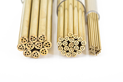 Brass multi hole electrode tubes