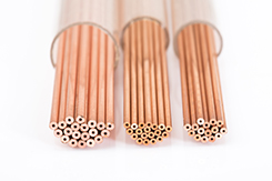 Copper single-hole electrode tubes