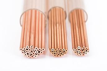 紅銅單孔電極管