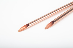 C1020 deoxidized smooth copper tubes